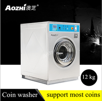 Aozhi 12kg 15kg Laundry Coin Washer