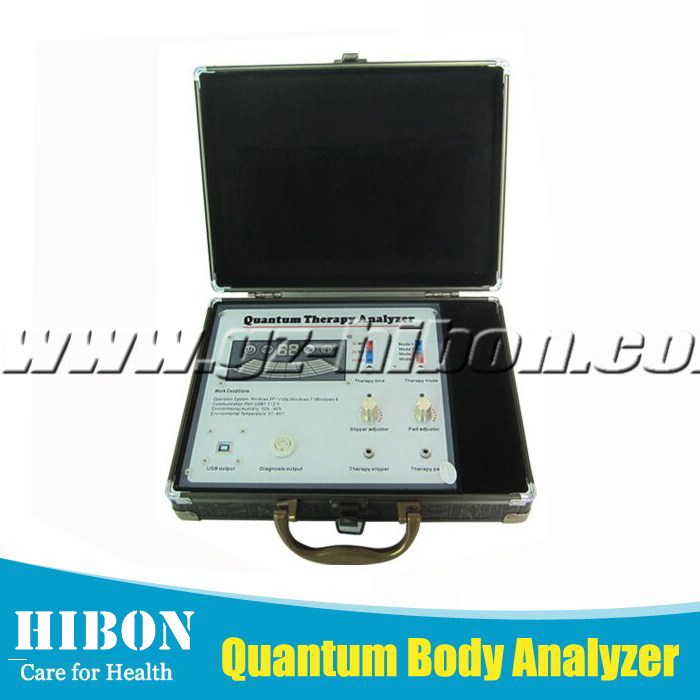 Newest and Hottest Portable Quantum Resonance Magnetic Analyzer Tens Therapy