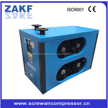 compressed air dryer machine industrial frozen air conditioning air dryer