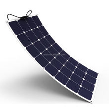 High efficiency solar cell Flexible solar panel 100W for boat cabin tent RV