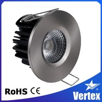 2.5 inch cob ceiling light CE&ROHS bezel led downlight