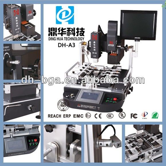 DH-A3 optical laser aligenment bga repair for large and small pcb,Sinobga rework bga soldering and desoldering rework station