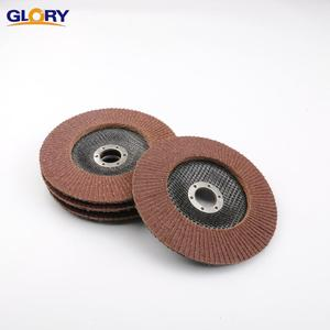 Aluminum Oxide Brown Abrasive Flap Disc Glass Fiber Backing