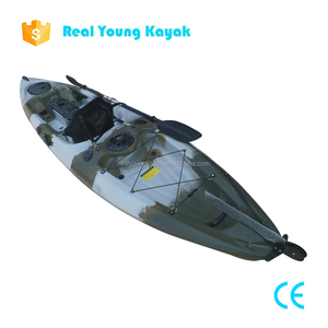 Fishing Canoe Boat Pedal Kayaks With Rudder System