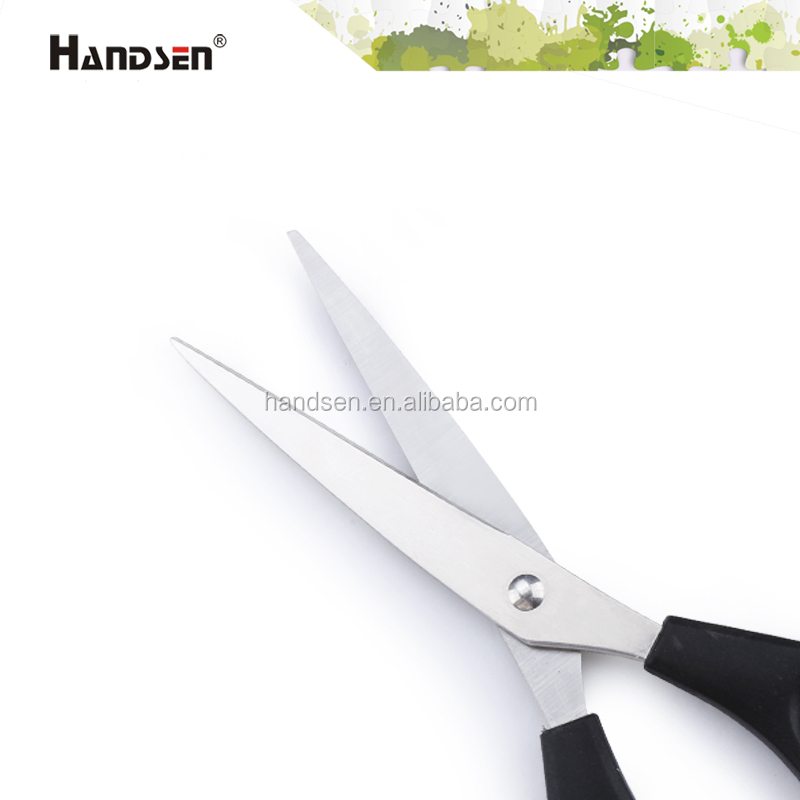 "7"" plastic handle hairdressing hair thinning scissors"