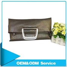 New Fashion Design Genuine Leather Ladies Clutch Bag with Alibaba stock China Wholesale