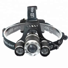Wholesale Led 3T6 Moving Running Powerful Hunting Usb Rechargeable Led Headlamp