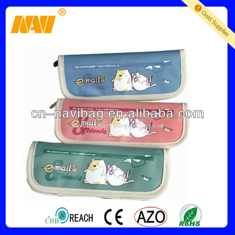 China bag factory sell pencil bag for kids(NV-PE012)
