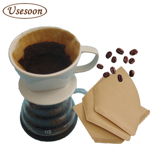 V / Sector / bowl shape drip hand brewed coffee filter paper / coffee filters