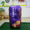Air Advertising Chocolate Packaging Box Shape / Custom Inflatable Chocolate Box for Promotional Display