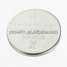CR2032 3V Lithium Button Cell Battery with pcb Tab Pins