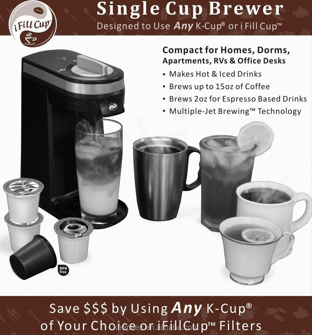 2015 new style k cups brewer hotel products in room keurig coffee capsule - Compact Hotel 2015
