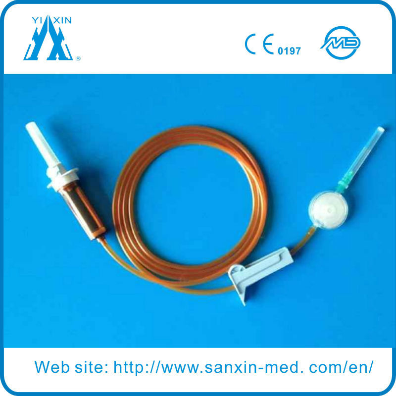 Infusion Set Medical Components For Light Proof Infusion Set
