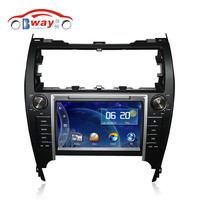 Bway car audio player for TOYOTA CAMRY 2012 American version car dvd gps 256 MB RAM with car Radio bluetooth,steering wheel