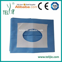 non woven disposable self-adhesive sterile Drape Angiography Pack with hole