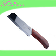 Zirconium ceramic knife in bamboo handle