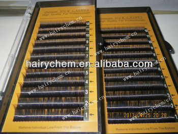 Customized design package Factory Direct 0.07 mm Softest silk eyelash extension volume lashes