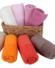 100% organic cotton wholesale skin care border hand towels