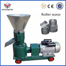 CE Flat Die Small Animal Feed Pellet Machine/Feed Pellet Mill For Chicken