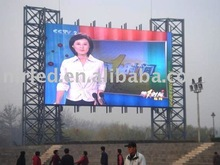 emergency sign board(outdoor full color advertising billboard )