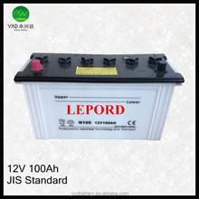 Lead Acid Dry Charged rechargeable dry cell solar machinery battery