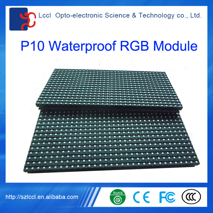 Wholesale waterproof electronic giant commercial advertising P10 outdoor led module