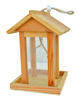 FSC and BSCI unique bird house kits wooden bird feeder kits