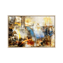 Modern abstract print wall picture photo framed canvas art
