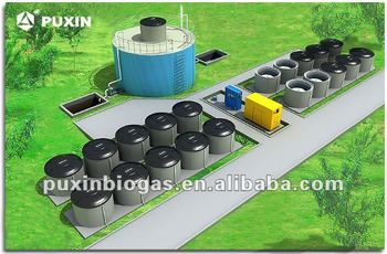 Rural biogas project