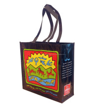 Eco-friendly recycled RPET shopping bag
