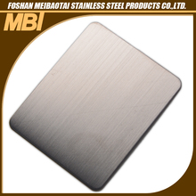 Different Color Hairline Finish Stainless Steel Plate
