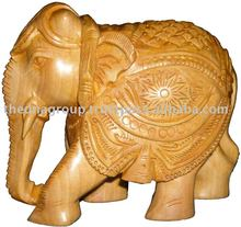 Wooden Elephant Appliques With Fabulous