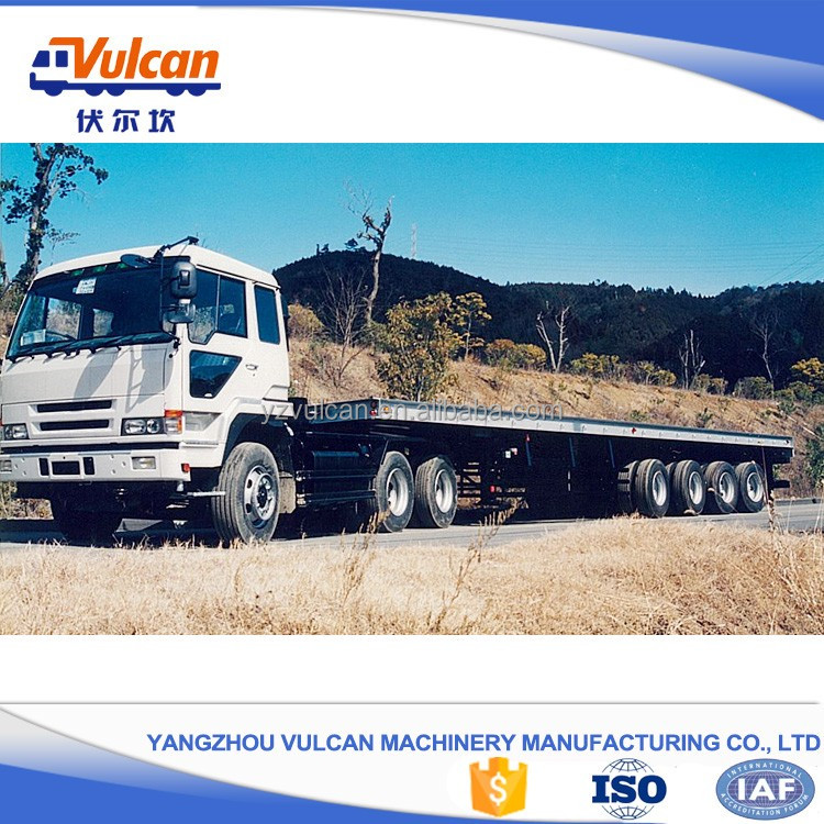 High quality customized flatbed car trailer for competitive price