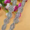 China wholesale gorgeous rhinestone crystal bridal headband