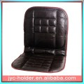 Orthopaedic Leather Car Front Seat Pair Covers Protect Back Support Cushion