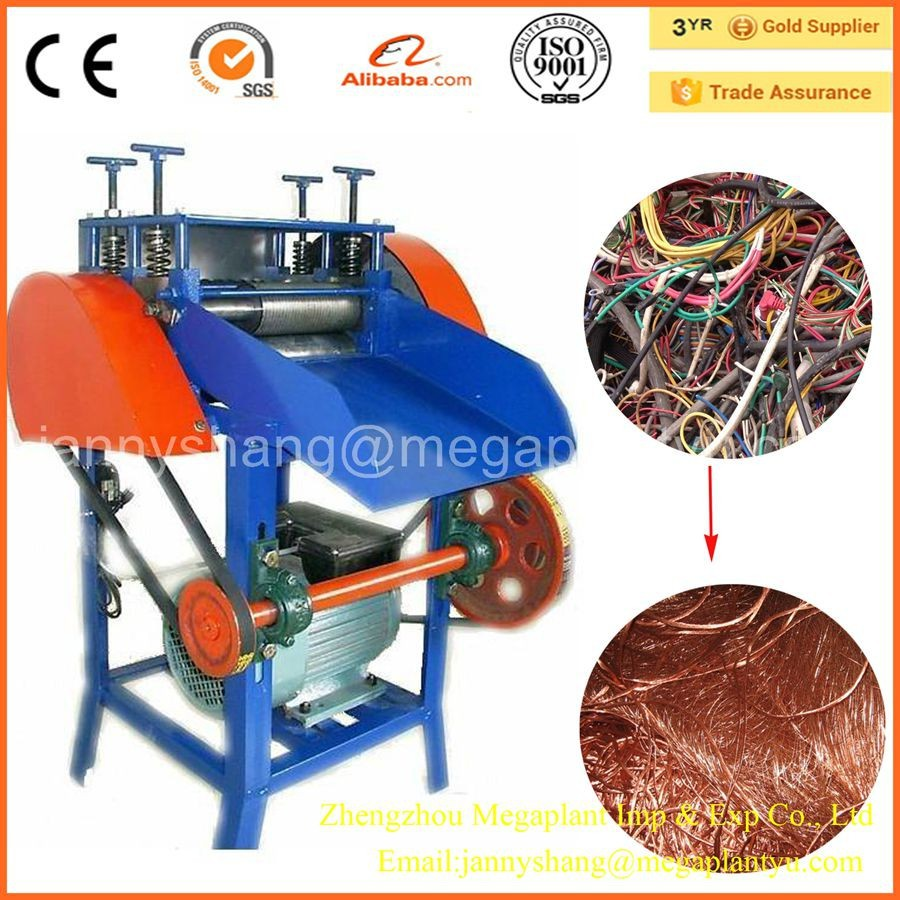 Wires Cables & Cable Assemblies Scrap Copper Wire Stripping Machine