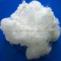 100% virgin low melt polyester staple fibers used for non woven in raw white and black 4d*51mm