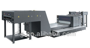 Full Automatic UV Spot Coating Machine,coater,varnish machine (SGJ-GUV 1100)