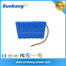 Rechargeable LiFePo4 6.4v 2800mah Batterie Pack 18650 cells