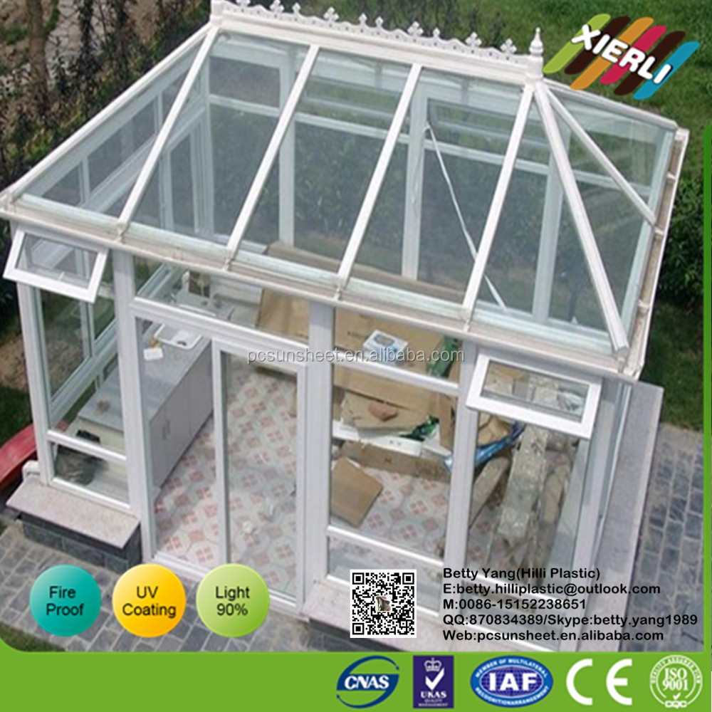 Made in China Corrugated plastic sheets 4x8 for poultry farm, Dome house use corrugated polycarbonate sheet