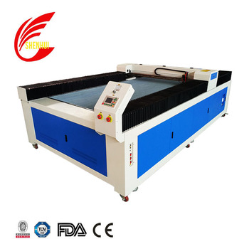 china supplier 2500*1300mm 100w co2 laser cutting machine for clothing fabric