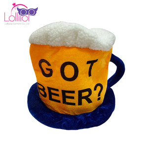 Soft plus got beer oktoberfest mug hat for beer party