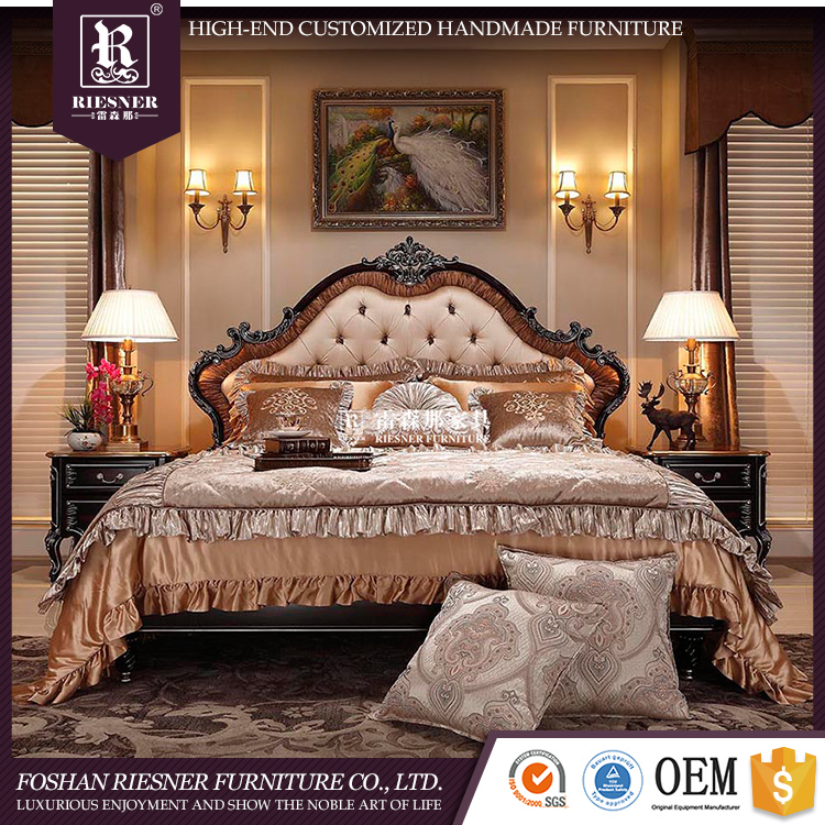 Latest bedroom furniture designs Customize royal furniture bedroom sets , queen bedroom set