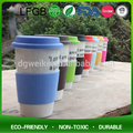 Popular silicone rubber glass water bottle cover/silicone bottle sleeve/cup sleeve