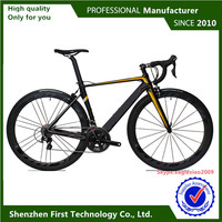 men road bike riding type carbon racing bike high quality bike frame