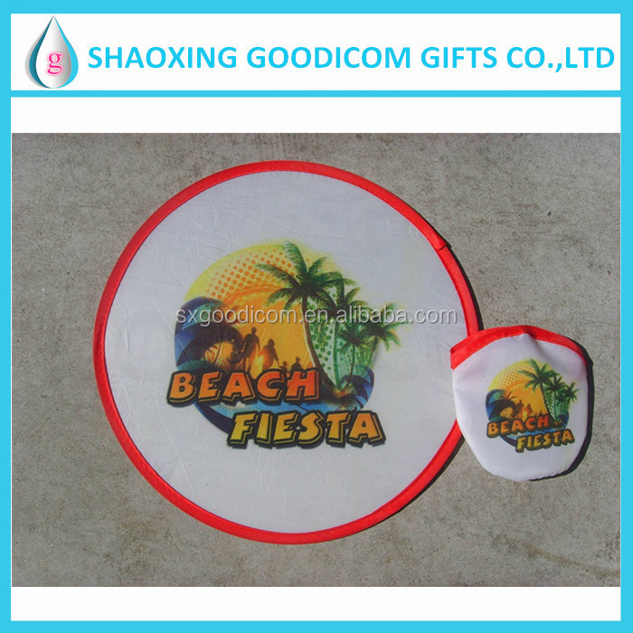 advertising frisbee flying spinning toys
