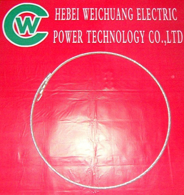 Optical Cable Ground wire, Electric crimp fittings