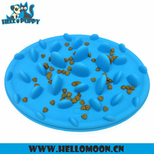 Silicone dog Feeder Food Suction Cup Pet Bowl