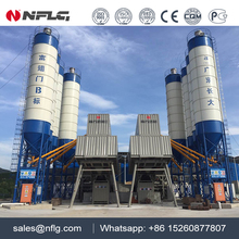Large capacity wide usage ready-mixed concrete mixing plant with 25 years experience