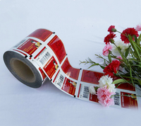 easy tear off roll film for aluminum foil composite PP packing bag